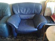 VERSCHENKEN echt Leder Sessel und