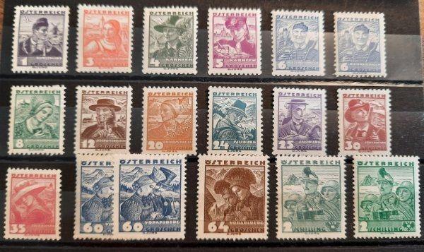 Österr Volkstrachten 1934-1936