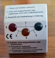 Steckdosentester - Leitungstester-Steckdosen Strom Leitung prüfen
