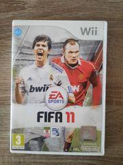 Wii Fifa2011 cd Spiel