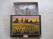 Puzzle Sonnenblumenfeld 1000 Teile