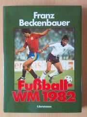 Franz Beckenbauer Fußball-WM 82 signiert
