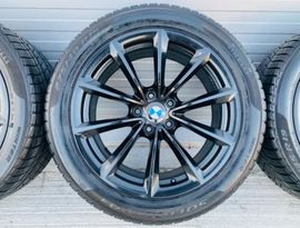 Räder 19 BMW Style 296 X3 X4 2 Breiten Pirelli Winter 245 45 mit 275 40