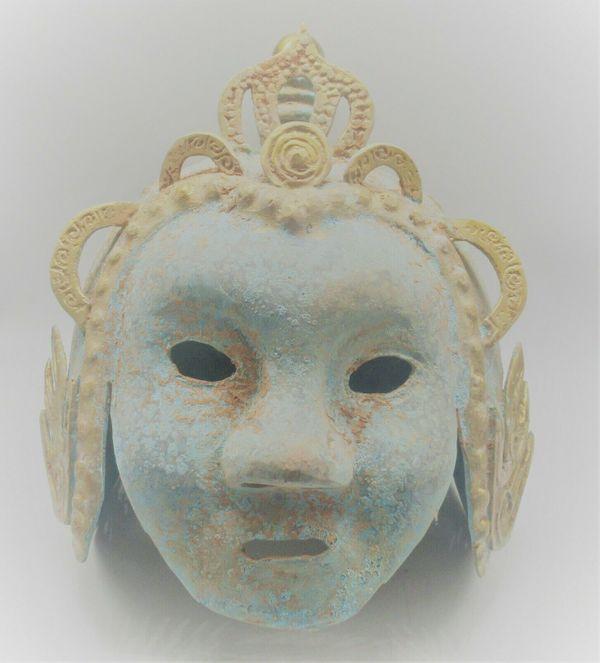Antik Militär Helm Armee Maske