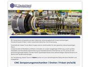 CNC Zerspanungsmechaniker Dreher Fräser m