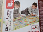 Rennbahn-Puzzle Puzzleteppich Janod