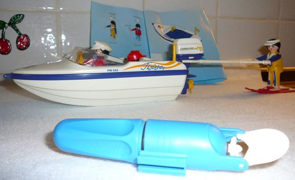 Playmobil Motorsportboot mit abnehmbarem Antriebsmotor