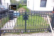 Pforte Gartentor Zweiflügeltor Kömapan Einfahrtstor