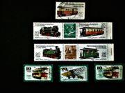 DDR Briefmarken Schmalspurbahnen Verkehrsmuseum