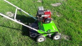 Gartengeräte, Rasenmäher - Benzin Vertikutierer Rasenlüfter mieten leihen