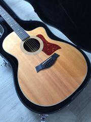 Taylor 214CE Westerngitarre Cutaway Mit