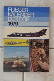 Buch Fliegerkalender der DDR 1979