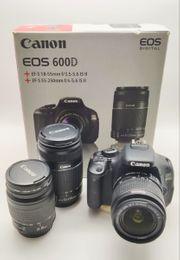 Canon EOS 600D Kit viel