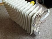 elektrischer Heizradiator 230 V fahrbar