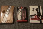 Star Wars Notizbücher und Kugelschreiber