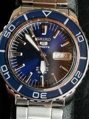 Seiko Sports 5 Automatic Blau