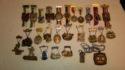 Wanderorden Medaillen 1975