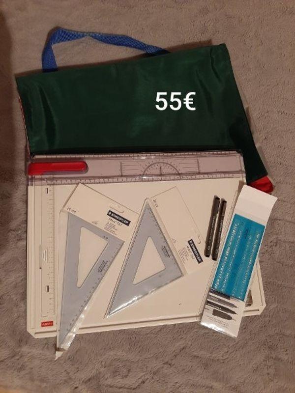 Zeichenplatte A3 mit Tasche und