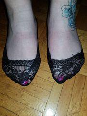 Ballerina Socken Netz Socken usw
