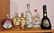 Vintage Spirituosen Raritäten aus den