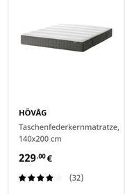 Ikea Matratze 140 × 200