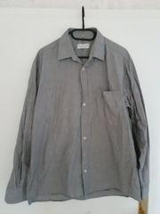 Oberhemd grau langärmelig Größe 42