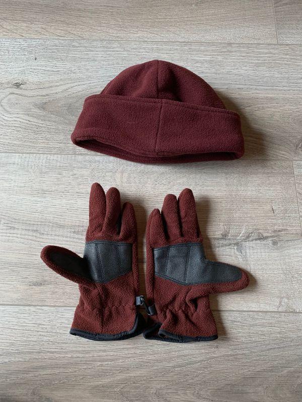 STEEDS Winter-Fleece-Reithandschuh und Mütze