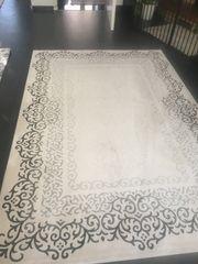 2Stück Teppiche Creme
