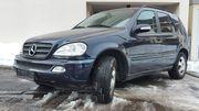 Mercedes Benz ML270 W163