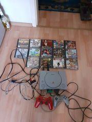 Sony Playstation und 15 Spiele