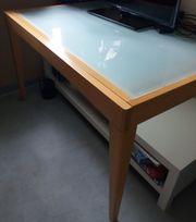 Calligaris Esstisch mit Glasplatten 130x90