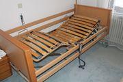 Burmeier Pflegebett mit Matraze
