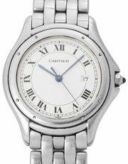 Cartier Cougar 987904 Stahl Quarz