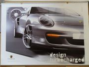 Porsche Kalender design turbocharged style