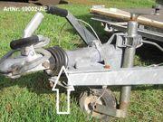 Auflaufeinrichtung Einachser bis 1350 kg