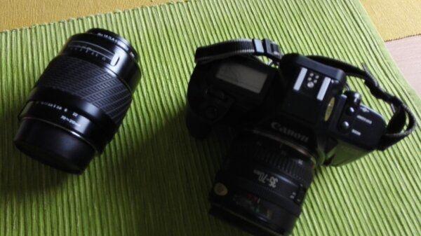 Canon EOS 650 Analog mit