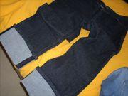 1 Jeans-Hose schwarz Gr 40