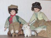 Puppen - Duo Hirten - Pärchen