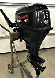 NISSAN Außenbordmotor Elektrostart 15 PS