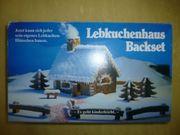 Lebkuchenhaus Backset
