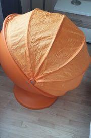 Kinderdrehstuhl Ikea PS Lömsk Orange