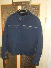 Textil-Motorradjacke von AJS WATSON blau