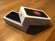 iPhone SE in space grau