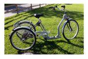 ultraleichtes PFAU-TEC Dreirad Alluminio 24