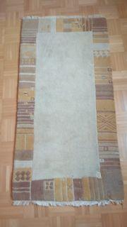Wollteppich ca 70x140 cm