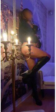 Erotische Massage mit Öl und