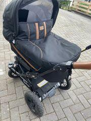 Emmaljunga Kinderwagen mit Schale und