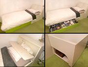 Hochwertiges Jugendbett von Rudolf Möbel -
