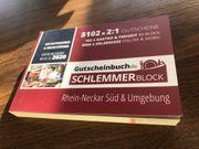 Schlemmerblock 2020 Rhein-Neckar Süd Umgebung