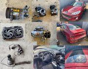 Peugeot Teile - 2x KAT 1x